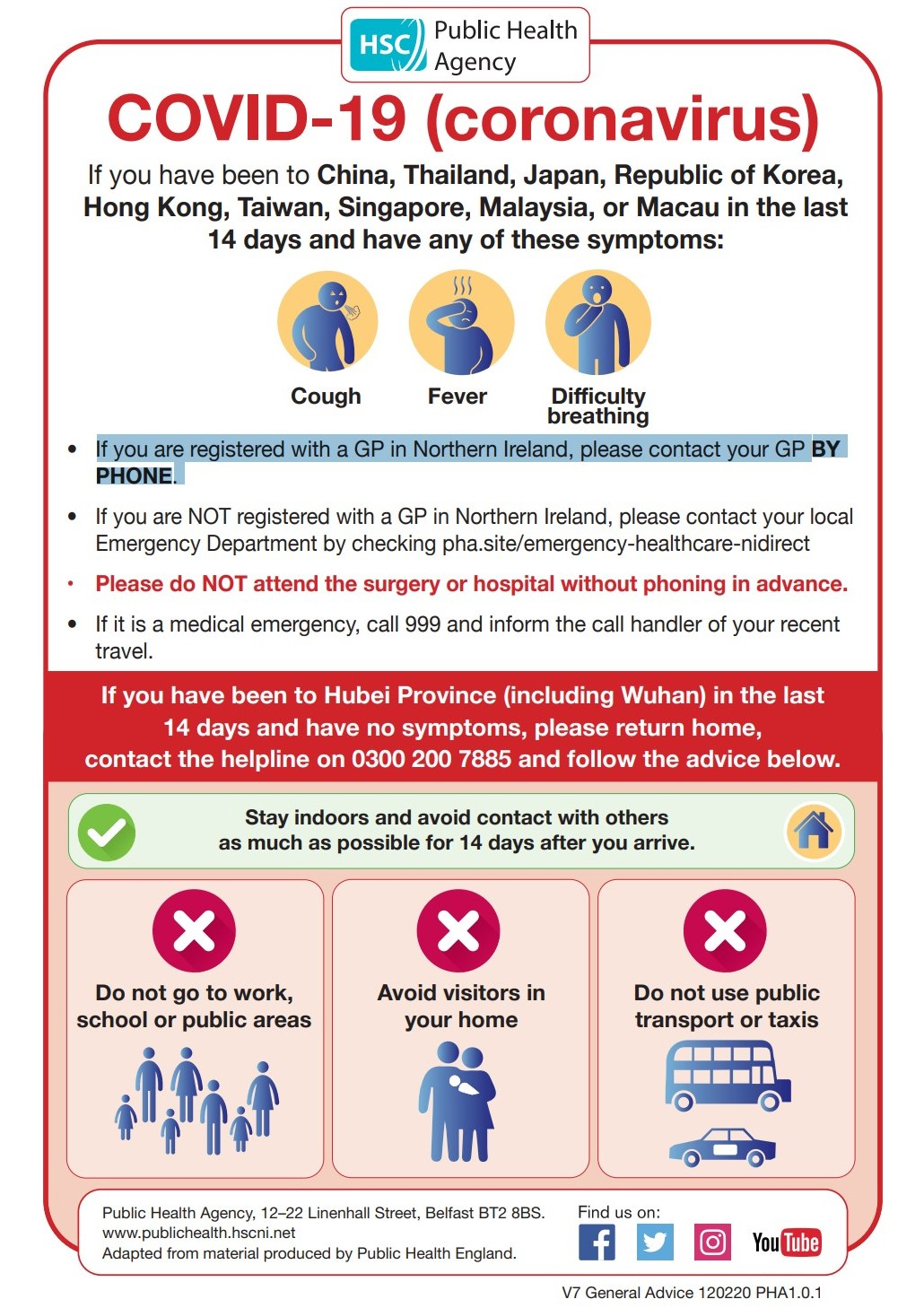 Public Health Notice: COVID-19 (coronavirus) - NW Care